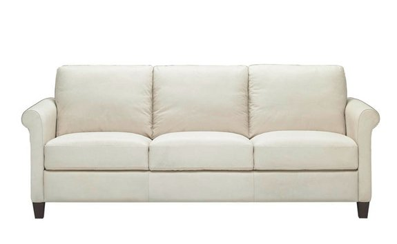 Parma Queen Leather Sleeper by Natuzzi