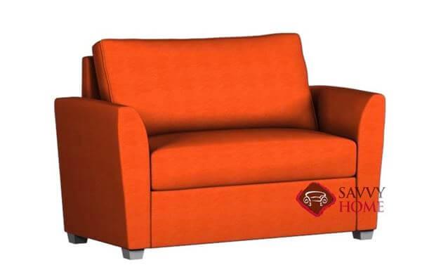 """Pantone's """"Living Coral"""" Sofa Bed"""