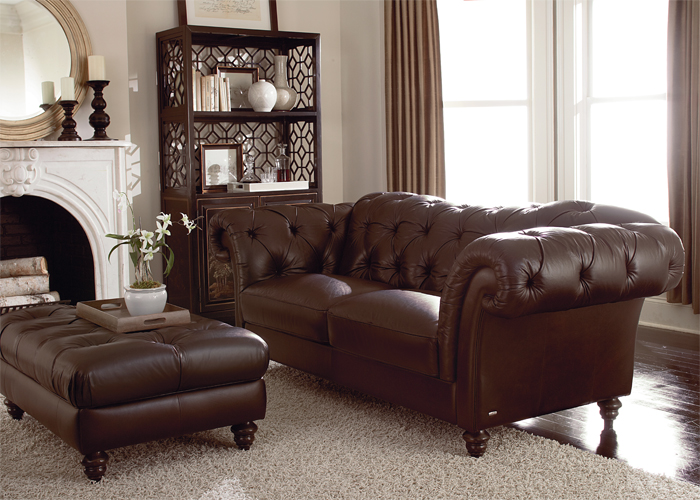 Caring for fine leather hide upholstery