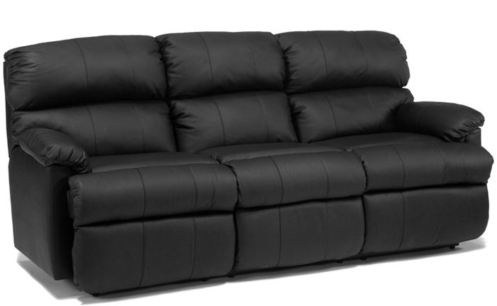 The Chicago Reclining Leather Sofa