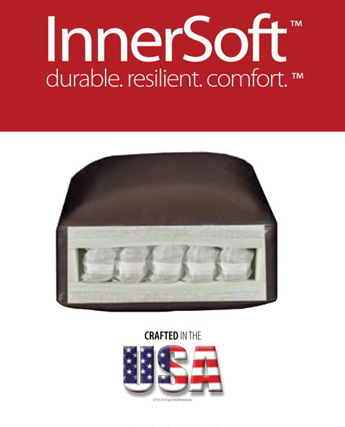 Premium Innersoft Pocket Coil Seat Cushions