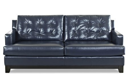 The Alderman Leather Sofa by Klaussner