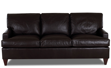 The Daltry Leather Sofa by Klaussner