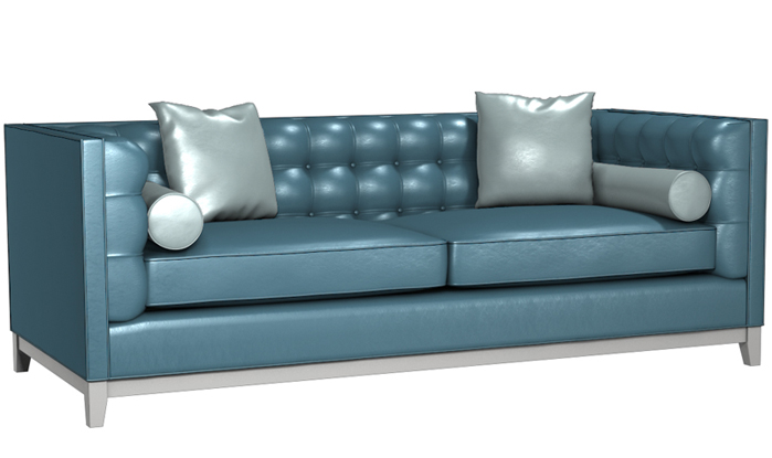 The Jared Leather Sofa by Lazar