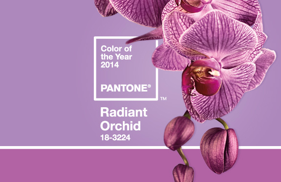 Radiant Orchid is Pantone Color of the Year